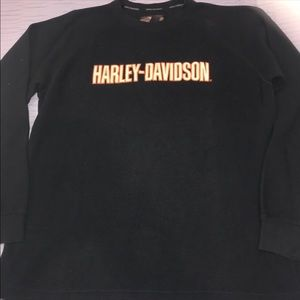 Harley Davidson men's thermal shirt